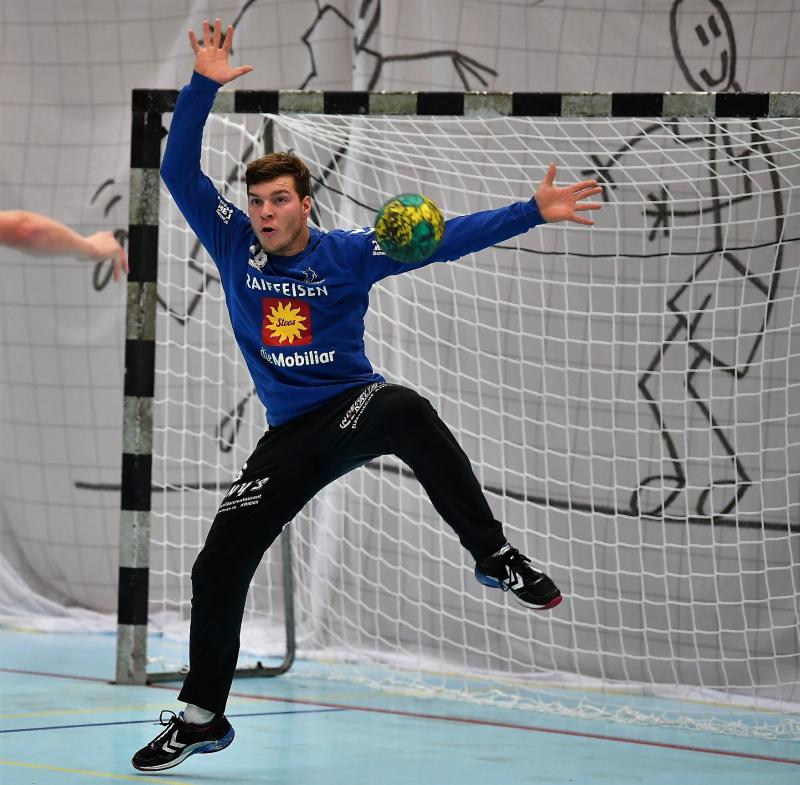 Torhüter Yves Imhof hat beim TV Endingen einen Einjahresvertrag unterzeichnet. (Bild: Andy Scherrer)