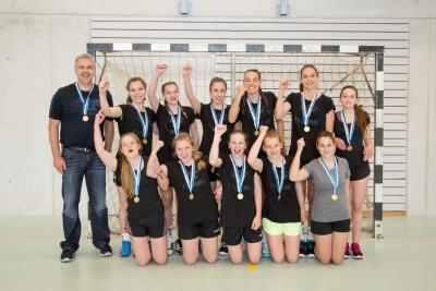 Die erfolgreichen FU18 Juniorinnen des KTV Muotathal (Bild: Esther Heinzer)