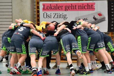 Die Handballer des KTV Muotathal freuen sich auf den Raiffeisen-Cup und man darf gespannt sein, was sie sich für Pläne für die neue Saison zurechtgelegt haben. (Bild: Andy Scherrer)