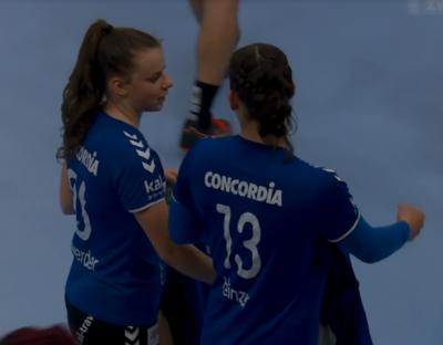 Kyra Gwerder und Celia Heinzer haben ihr Handball-ABC beim Handball KTV Muotathal erlernt.