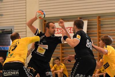 Kevin Heinzer erzielte 12 Treffer in den beiden Spielen und wurde als Torschützenkönig ausgezeichnet. (Bild: Andy Scherrer)