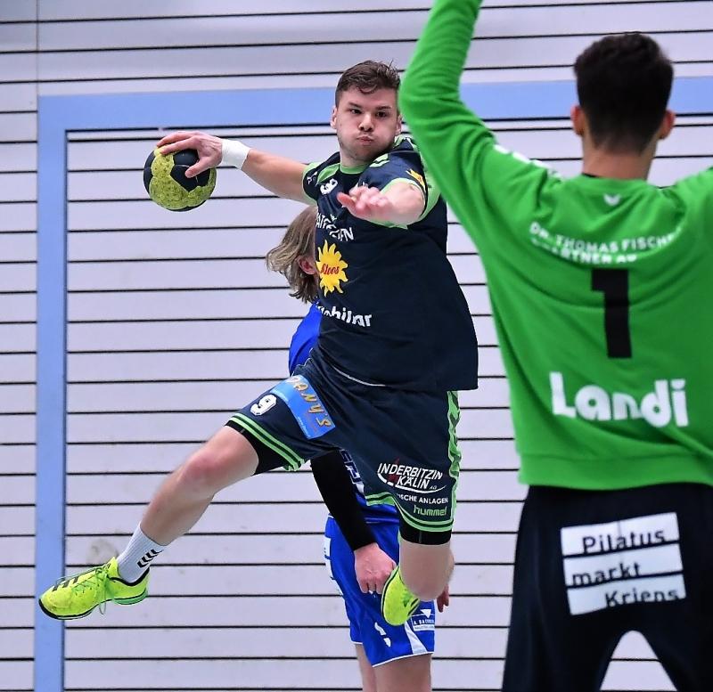 Stefan Christen war erfolgreichster Schütze in den Reihen der Muotathaler und er erzielte neun Tore. (Bild: Andy Scherrer)