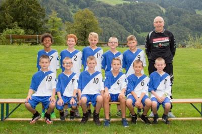 Die MU13 Junioren bestritten ihr erstes erfolgreiches Turnier in dieser Saison. (Bild: Esther Heinzer)