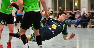 Im letzten Heimspiel dieser Saison gab es ein spannendes Spiel mit vielen sehenswerten Aktionen wie hier Alex Suter am Ball. (Bild: Andy Scherrer)