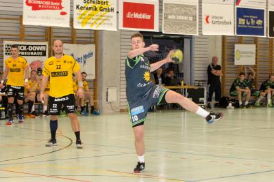 Pascal Gwerder war mit neun Treffern erfolgreichster Torschütze in den Reihen des KTV Muotathal. (Bild: Esther Heinzer)