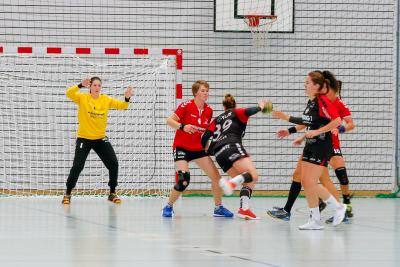 Trotz guter kämpferischer Leistung setzten sich die Oberklassigen erwartungsgemäss durch. (Bild: Esther Heinzer)