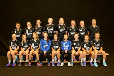 Die Muotathalerinnen besiegen das 3. Liga Team SG Ruswil Wolhusen mit 25:21. (Bild:Esther Heinzer)