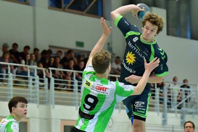 Der junge Janik Nauer musste viel einsteckten, zeigte aber trotzdem ein gutes Spiel. Am Ende reichte es gegen Muri aber leider nicht zum Sieg. (Bild: Andy Scherrer)