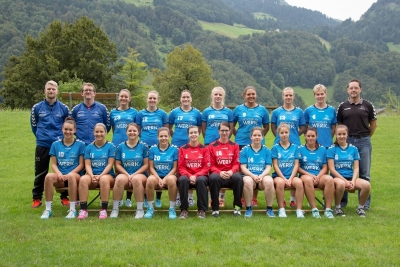 Die 1. Liga-Damen sind am Mittwoch im Cup engangiert.