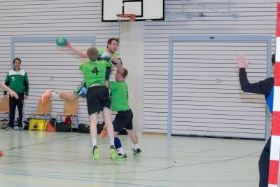 Auch gegen Schlusslicht Lausanne braucht es wieder vollen Einsatz der Spieler des KTV Muotathal wie hier Patrick Föhn am Ball vorzeigt. (Bild: Esther Heinzer)