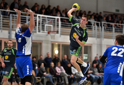 Der KTV Muotathal hier mit Viktor Betschart am Ball freut sich auf den Start der Finalrunde und will gegen Pilatus punkten. (Bild: Andy Scherrer)
