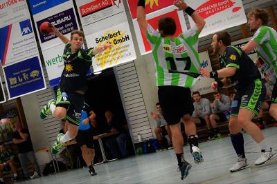 Gegen die SG Pilatus wartet eine schwierige Aufgabe auf die Handballer des KTV Muotathal, hier mit Janik Nauer am Ball. (Bild: Remo Scherrer)