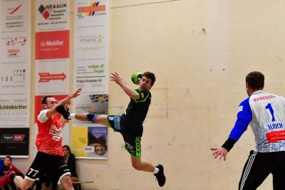 Der KTV Muotathal, hier mit Ivo Betschart am Ball, möchte das Jahr erfolgreich mit einem Sieg gegen Handball Wohlen abschliessen. (Bild: Andy Scherrer)